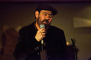 Mark Eitzel performing at the CafÈ Berlin, Madrid.