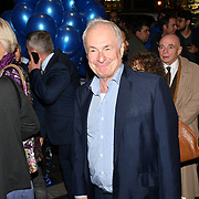 Paul Gambaccini attend the Company - Opening Night at Gielgud Theatre, London, UK. 17 October 2018.
