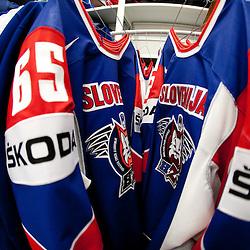 20110505: SVK, Ice Hockey - Dressing room Team Slovenia in Orange Arena, Bratislava