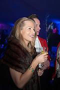 KATIE ROBINSON; MAJ NEIL CROSS, Quorn Hunt Ball, Stanford Hall. Standford on Soar. 25 January 2014