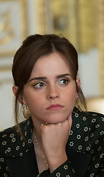 UN Women Goodwill Ambassador Emma Watson attending the first meeting of the G7 Gender Equality Advisory Council in Paris, France, on February 19, 2019. Photo by Jacques Witt/Pool/ABACAPRESS.COM