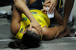 27-08-2010 VOLLEYBAL: WGP FINAL BRAZIL - USA: BEILUN NINGBO<br /> USA beats Brazil in five sets / Paula Pequeno injured<br /> ©2010-WWW.FOTOHOOGENDOORN.NL