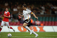 Photo: Rich Eaton.<br /> <br /> Wales v Germany. UEFA European Championships Qualifying. 08/09/2007. Germany's Miroslav Klose scores the opening goal of the game.