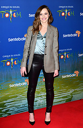 Hannah Tointon attending the premiere of Cirque du Soleil's Totem, in support of the Sentebale charity, held at the Royal Albert Hall, London.