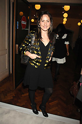 Singer K T TUNSTALL at a reception to launch the Kiss It Better Appeal in aid of the Great Ormond Street Hosoital supported by Clinique - held at Harrods, Knightsbridge, London on 30th January 2008.<br /> <br /> NON EXCLUSIVE - WORLD RIGHTS (EMBARGOED FOR PUBLICATION IN UK MAGAZINES UNTIL 1 MONTH AFTER CREATE DATE AND TIME) www.donfeatures.com  +44 (0) 7092 235465