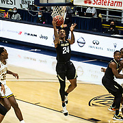 February 13 2021 Berkeley, CA  U.S.A.  Colorado guard Eli Parquet (24) drives to the hoop in the first half during the NCAA Men's Basketball game between Colorado Buffaloes and the California Golden Bears 62-71lost at Hass Pavilion Berkeley Calif.  Thurman James / CSM