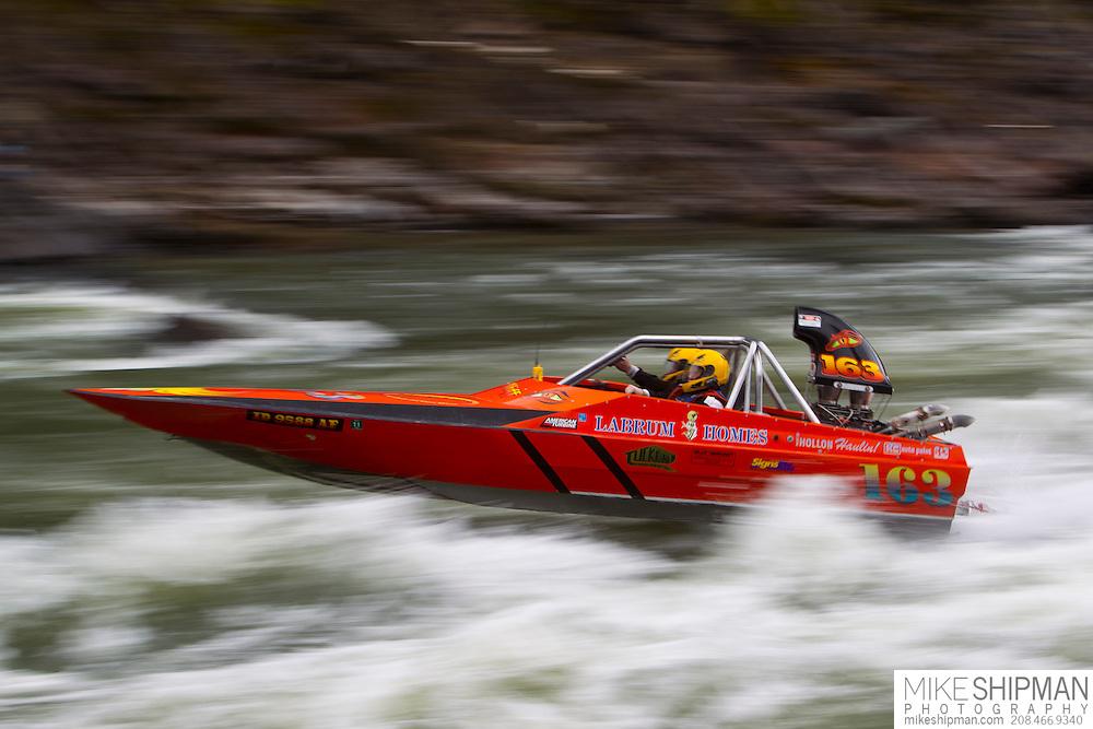 Salmon River Jet Boat Race, Riggns, Idaho