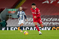 Liverpool midfielder Alex Oxlade-Chamberlain (15) during the Premier League match between Liverpool and West Bromwich Albion at Anfield, Liverpool, England on 27 December 2020.