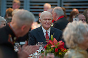 Former U.S. Senator and Astronaut John Glenn is recognized during the Marine Corps Heritage Foundation' 33rd Annual Awards Dinner.  Photo by Johnny Bivera