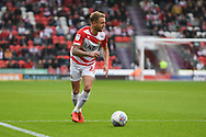 James Coppinger of Doncaster Rovers (26) looks to cross the ball during the EFL Sky Bet League 1 match between Doncaster Rovers and Gillingham at the Keepmoat Stadium, Doncaster, England on 20 October 2018.
