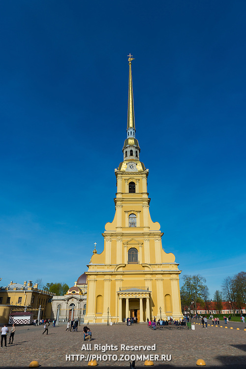 Saint Peter and Paul Fortress, St Petersburg