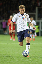 October 6, 2017 - Turin, Piedmont, Italy - Ciro Immobile (Italy) in action during the FIFA World Cup European Qualifying match between Italy and FYR Macedonia at Olympic Grande Torino Stadium on 6 October, 2017 in Turin, Italy. (Credit Image: © Massimiliano Ferraro/NurPhoto via ZUMA Press)