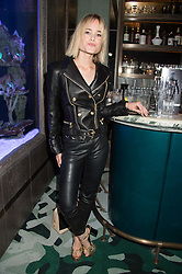JULIA HOBBS at the launch of the new Matchless Star Wars collection at Sexy Fish, Berkeley Square, London on 4th November 2015.