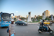 De hoofdstad van Senegal, Dakar