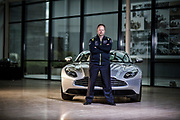 Andy Palmer - Aston Martin CEO, Photographed at the Aston Martin Gaydon Plant. Andy Palmer - Aston Martin