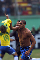 25/07/04 - LIMA - PERU - FINAL MATCH - COPA AMERICA PERU 2004 - BRASIL - BRAZIL (5) VS. ARGENTINA (3) - <br />