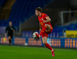 CARDIFF, WALES - Sunday, November 15, 2020: Wales' Rhys Norrington-Davies during the UEFA Nations League Group Stage League B Group 4 match between Wales and Republic of Ireland at the Cardiff City Stadium. Wales won 1-0. (Pic by David Rawcliffe/Propaganda)