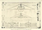 Pediments to Old Supreme Court and Caledon Street Police Court From the book ' Eighteenth century architecture in South Africa ' by Geoffrey Eastcott Pearse. Published by A.A. Balkema, Cape Town in 1933 G. E. Pearse was among the first to bring Cape architecture to a wide audience in a scholarly way. Eighteenth Century Architecture in South Africa was the result of many years research on the topic and remains an important reference work for the subject.