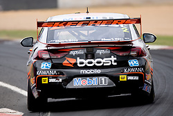 October 7, 2018 - Bathurst, NSW, U.S. - BATHURST, NSW - OCTOBER 07: Scott Pye / Warren Luff in the Mobil 1 Boost Mobile Racing Holden Commodore across the top of the mountain at the Supercheap Auto Bathurst 1000 V8 Supercar Race at Mount Panorama Circuit in Bathurst, Australia. (Photo by Speed Media/Icon Sportswire) (Credit Image: © Speed Media/Icon SMI via ZUMA Press)