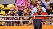 DESCRIZIONE : Supercoppa 2015 Semifinale Dinamo Banco di Sardegna Sassari - Grissin Bon Reggio Emilia<br /> GIOCATORE : Nando Gentile<br /> CATEGORIA : Tifosi Pubblico Spettatori VIP<br /> SQUADRA : Grissin Bon Reggio Emilia<br /> EVENTO : Supercoppa 2015<br /> GARA : Dinamo Banco di Sardegna Sassari - Grissin Bon Reggio Emilia<br /> DATA : 26/09/2015<br /> SPORT : Pallacanestro <br /> AUTORE : Agenzia Ciamillo-Castoria/L.Canu