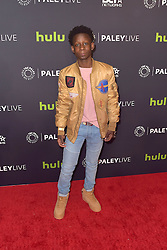 December 14, 2016 - Beverly Hills, Kalifornien, USA - Tyler Williams bei der Premiere der BET TV-Miniserie 'The New Edition Story' im Paley Center for Media. Beverly Hills, 14.12.2016 (Credit Image: © Future-Image via ZUMA Press)