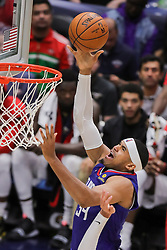 October 23, 2018 - New Orleans, LA, U.S. - NEW ORLEANS, LA - OCTOBER 23:  LA Clippers forward Tobias Harris (34) drives to the basket against New Orleans Pelicans on October 23, 2018, at Smoothie King Center in New Orleans, LA. (Photo by Stephen Lew/Icon Sportswire) (Credit Image: © Stephen Lew/Icon SMI via ZUMA Press)