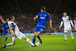03.11.2011, St. Andrews Stadion, London, ENG, UEFA EL, Gruppe H, Birmingham City (ENG) vs FC Bruegge (BEL), im Bild Birmingham City's Nikola Zigic goes down in the penalty area under a challenge from Club Brugge's Daan Van Gijseghem // during UEFA Europa League group H match between Birmingham City (ENG) and FC Bruegge (BEL) at St. Andrews , London, United Kingdom on 03/11/2011. EXPA Pictures © 2011, PhotoCredit: EXPA/ Propaganda Photo/ David Rawcliff +++++ ATTENTION - OUT OF ENGLAND/GBR+++++