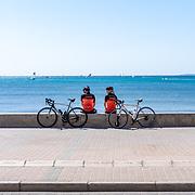 Mallorca on the racebike