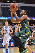 April 4, 2016; Indianapolis, Ind.; Christina Davis goes in for a layup in the NCAA Division II Women's Basketball National Championship game at Bankers Life Fieldhouse between UAA and Lubbock Christian. The Seawolves lost to the Lady Chaps 78-73.