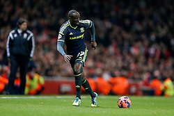 Albert Adomah of Middlesbrough in action - Photo mandatory by-line: Rogan Thomson/JMP - 07966 386802 - 15/02/2015 - SPORT - FOOTBALL - London, England - Emirates Stadium - Arsenal v Middlesbrough - FA Cup Fifth Round Proper.