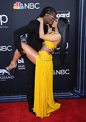Cardi B and Offset at the 2019 Billboard Music Awards held at the MGM Grand Garden Arena in Las Vegas, USA on May 1, 2019.