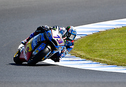 October 26, 2018 - Melbourne, Victoria, Australia - Spanish rider Alex Marquez (#73) of EG 0,0 Marc VDS in action during day 2 of the 2018 Australian MotoGP held at Phillip Island, Australia. (Credit Image: © Theo Karanikos/ZUMA Wire)