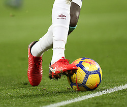 24 November 2017 London : Premier League Football : West Ham United v Leicester City - players of both teams neglected to wear rainbow laces.<br /> (photo by Mark Leech)