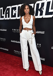 """Premiere of Focus Features """"BlacKkKlansman"""". Samuel Goldwyn Theater, Beverly Hills, California. Pictured: Pom Klementieff. EVENT August 8, 2018. 08 Aug 2018 Pictured: Kelly Rowland. Photo credit: AXELLE/BAUER-GRIFFIN/MEGA TheMegaAgency.com +1 888 505 6342"""