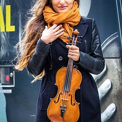 Scottish violinist Nicola Benedetti starts her residency at the Edinburgh International Festival.