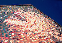Mural on brick wall, 13th Avenue Regina Saskatchewan
