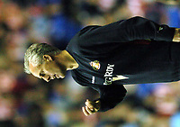 Fotball<br /> Foto: SBI/Digitalsport<br /> NORWAY ONLY<br /> <br /> Date: 31/08/2004.<br /> Reading v Sunderland Coca - Cola Championship.<br /> <br /> Mick McCarthy looks unhappy at his teams performance.