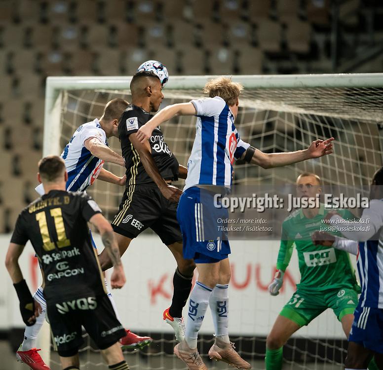 Cristhian Valencia Cifuentes 2-2.  HJK - SJK. Veikkausliiga. Helsinki 3.10.2021. Photo: Jussi Eskola
