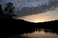 Sunrise over Horse Thief Lake, Black Hills, S.D.