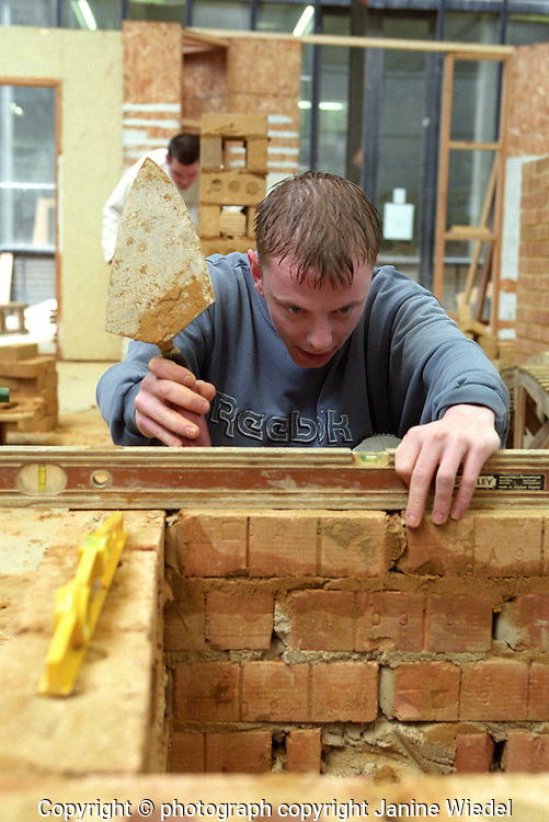 Learning bricklaying at Lambeth College  technology