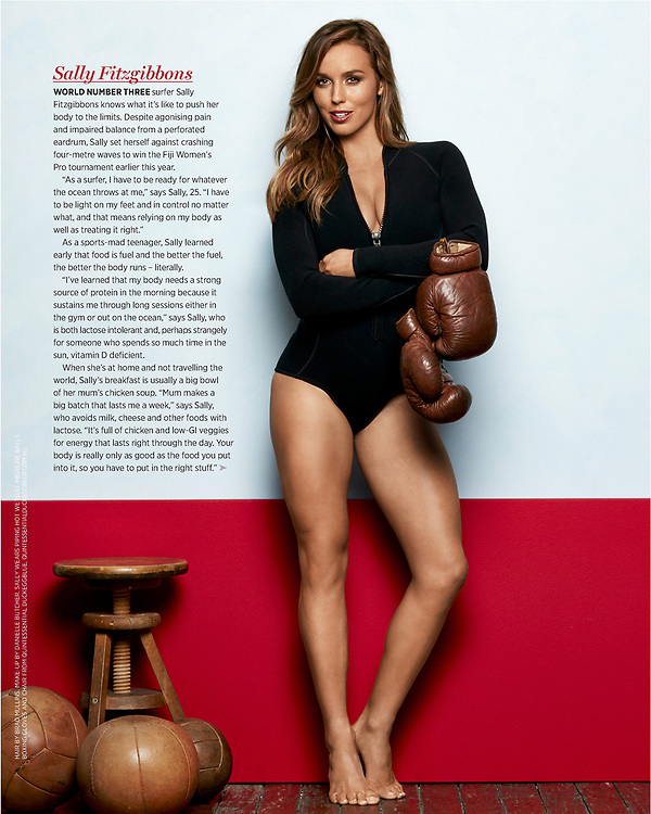 Australian Womens Weekly magazine page layout