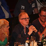 Jan Heemskerk & Jan Roos in jury Finale Miss Overijssel 2012