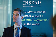 """Michael Every, Head of Financial Markets Research Asia-Pacific, Rabobank, to share his views on the financial market during Insead Speaker event for insead alumni association on 18 May 2016 at Rabobank Office HK, Photo by MozImages.<br /> <br /> Topic: """"Thin Ice: Looking at volatility in financial markets, the pressure on central banks and how the global economic/political backdrop might be impacted."""""""