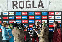 Rok Flander (SLO) after his farewell Run during Men's Parallel Giant Slalom at FIS Snowboard World Cup Rogla 2017, on January 28, 2017 at Course Jasa, Rogla, Slovenia. Photo by Vid Ponikvar / Sportida