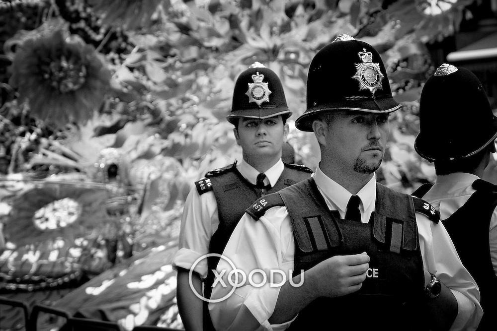 On patrol, London, England (August 2004)