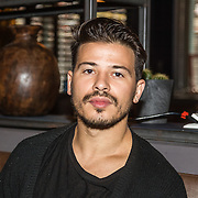 NLD/Amsterdam/20161025 - Fotomoment RTL 5 serie All-In Kitchen, Geza Weisz