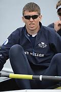 London, United Kingdom,  05/04/2014,  Varsity, Boat Race, Putney, Championship Course,  River Thames;    [Mandatory Credit; Peter Spurrier/Intersport Images],<br /> <br /> Crews, OUBC.  5. Malcolm HOWARD,