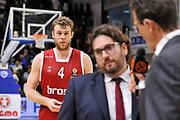 DESCRIZIONE : Eurolega Euroleague 2015/16 Group D Dinamo Banco di Sardegna Sassari - Brose Basket Bamberg<br /> GIOCATORE : Andrea Trinchieri Nicolo' Melli<br /> CATEGORIA : Allenatore Coach Postgame Composizone<br /> SQUADRA : Brose Basket Bamberg<br /> EVENTO : Eurolega Euroleague 2015/2016<br /> GARA : Dinamo Banco di Sardegna Sassari - Brose Basket Bamberg<br /> DATA : 13/11/2015<br /> SPORT : Pallacanestro <br /> AUTORE : Agenzia Ciamillo-Castoria/C.Atzori