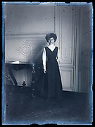 woman posing for a portrait France ca 1920s