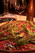 Beef Carpaccio at La Giostra, Borgo Pinti 12R, Florence, Italy, Frommer's Italy Day By Day